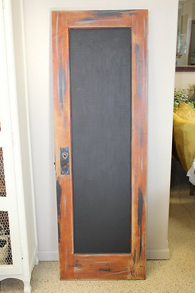 Brown Door Chalk Board