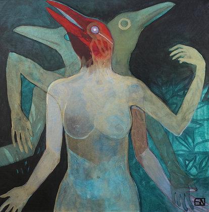 Me Myself and I | Acrylic on Canvas | 36x36