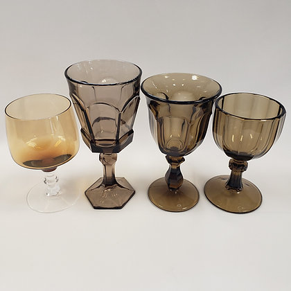 Brown Depression Glassware