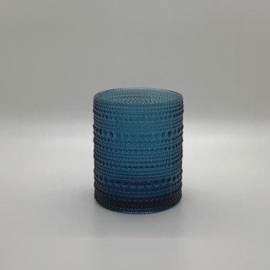 Dark Blue Rock Glass