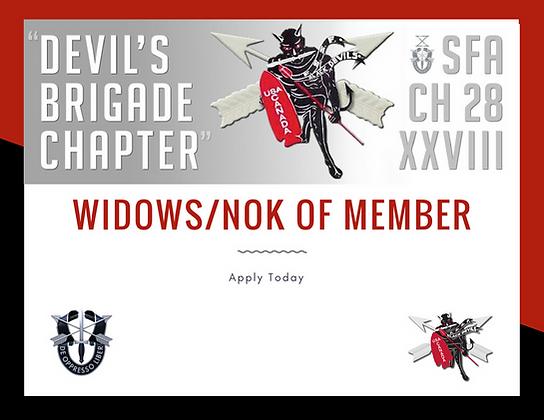 Widows/NOK of Members