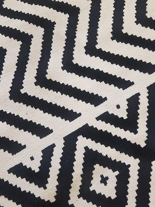 Black & White Rug
