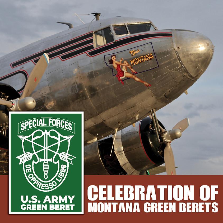 Celebration of Montana Green Berets