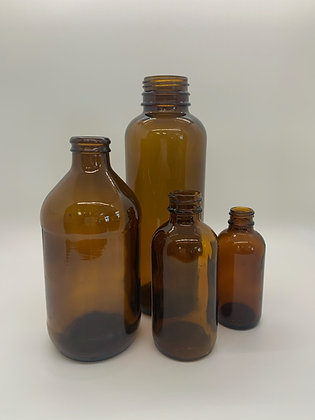 Brown Medicine Bottles