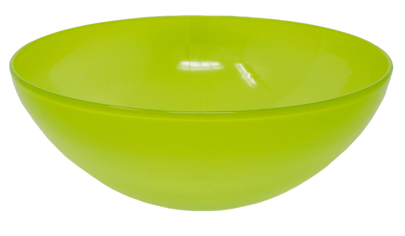 Grass Green Faded Bowl | Hot Glass | 4.5x10.5