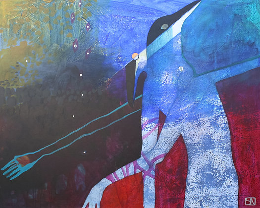 Gemini | Acrylic on Canvas | 48x60