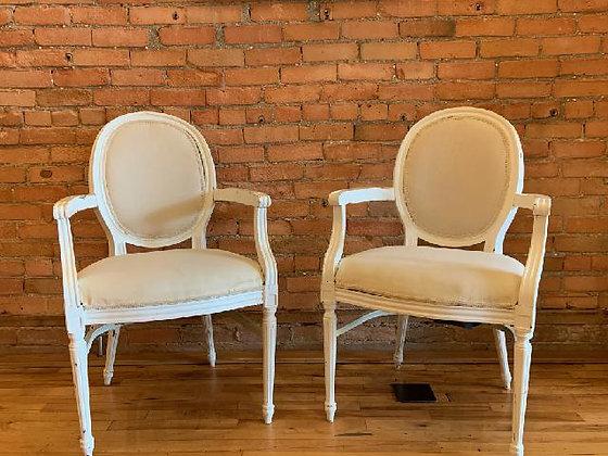 Sarah Ivory Salon Arm Chair Set