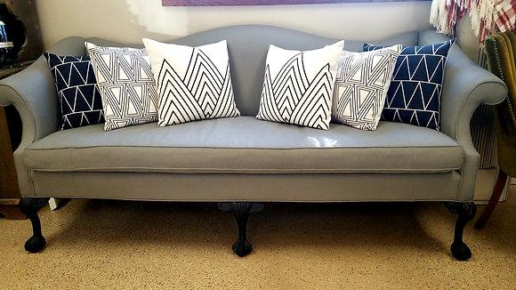 Grey Vintage Sofa