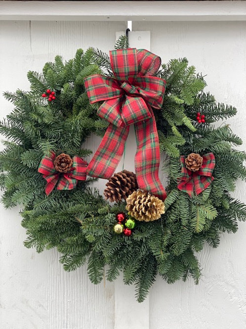 """24"""" Country Wreath"""