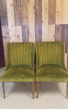 Olive Chair Set