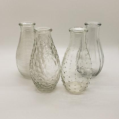 Textured Bud Vases