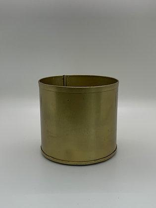 Matte Gold Cylinder Compote