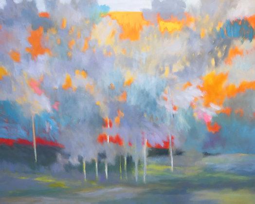 Marshall Noice | Warm Light, Hillside | Oil on Canvas | 48x60