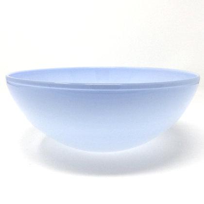 Eddie Magliaro | Opal Gray Bowl | Hot Glass | 3.5x9