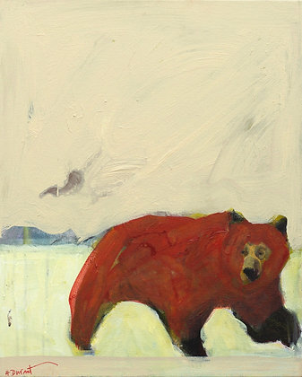 "Helen Durant | Winter Elegance | Acrylic on Canvas | 20x16"""
