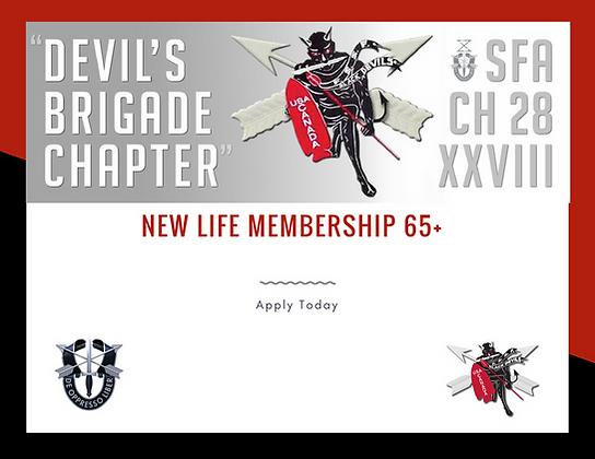 New Life Membership 65+