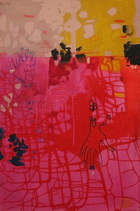 Now | Acrylic on Canvas | 36x24