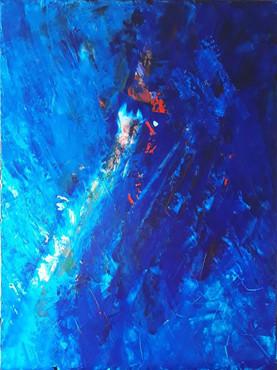 The Light � Acrylic on Canvas � 18x24 �.