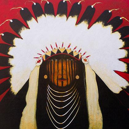 Good Bear | Acrylic on Canvas | 48x60