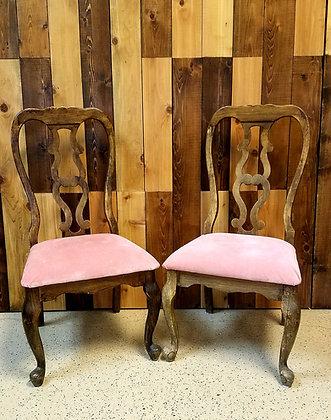 Pink Sweetheart Chair Set