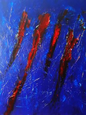 Sharp � Acrylic on Canvas � 48x48 � 4,00