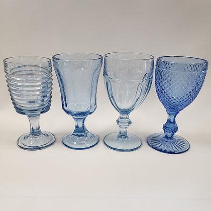 Light Blue Depression Glassware