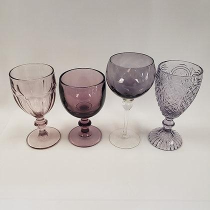 Amethyst Depression Glassware