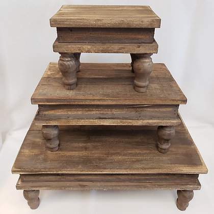 Wooden Risers
