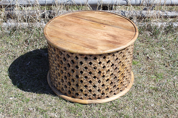 Tribal Wood Coffee Table