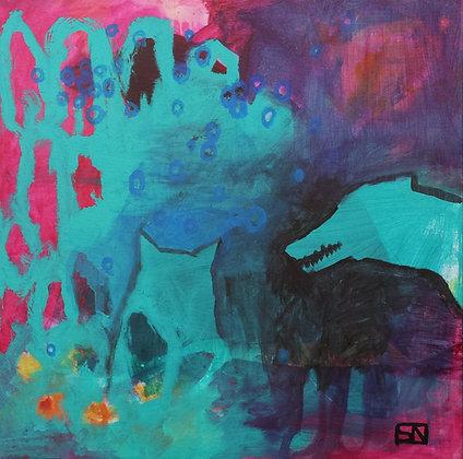 "Field Dreams | Acrylic on Canvas | 30x30"""