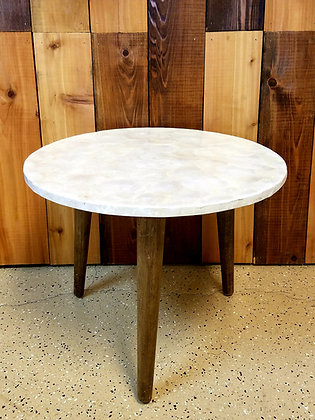 Pearl Top Side Table