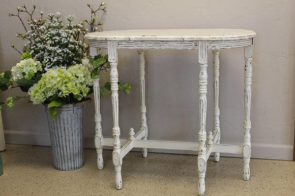 Vintage White Side Table