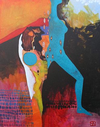 Memory | Acrylic on Canvas | 60x48