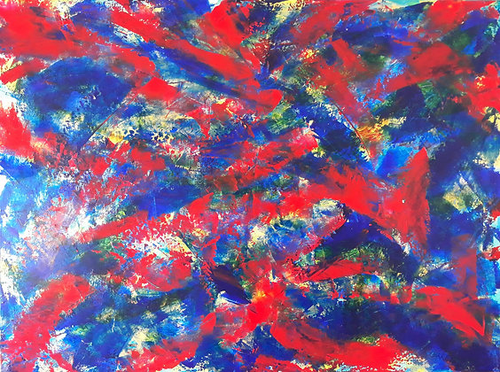 Schumann Resonance | Acrylic on Canvas | 30x40