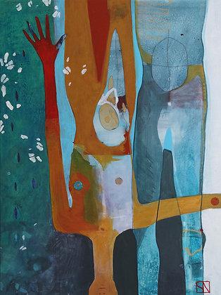 Healing | Acrylic on Canvas | 48x36