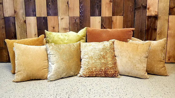 Gold | Bronze Tone Pillows