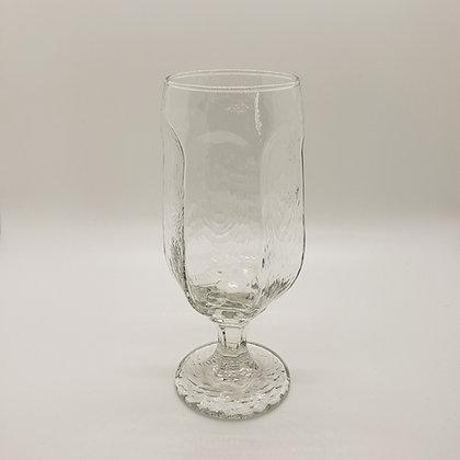 Textured Water Goblet