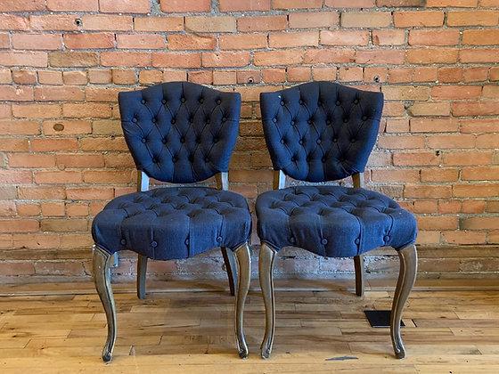 Blue Jean Club Chair Set