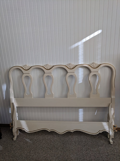 French Provincial Full Size Bed Frame