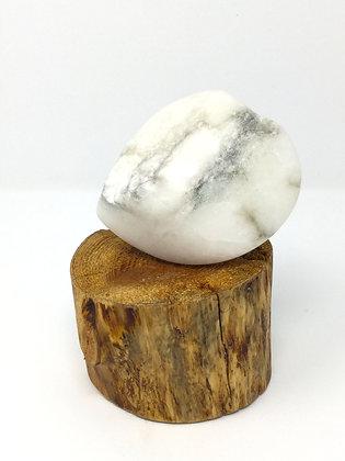Snowdrift | White Alabaster | 7x5x4
