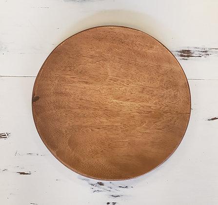 Vintage Wood Charger