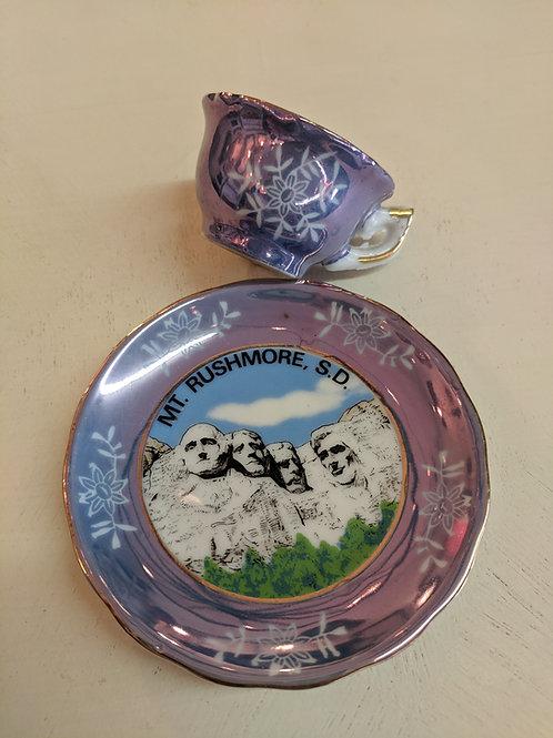 Mini Mt. Rushmore Tea Cup