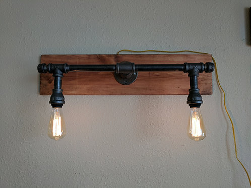Two Bulb Pipe Lights