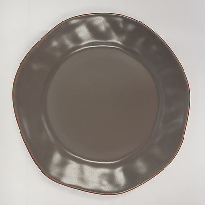 Cantaria Dark Grey Salad Plate
