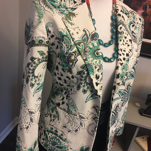 PAMELA McCOY COLLECTION FITTED BLAZER