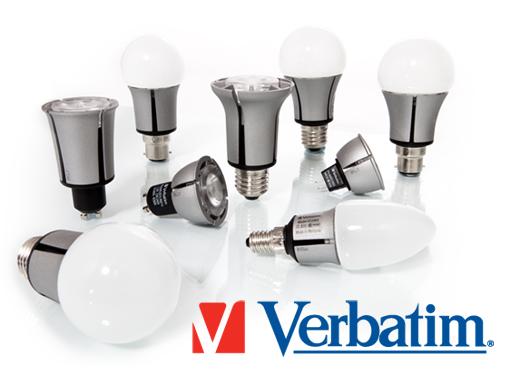 Verbatim lampe LED