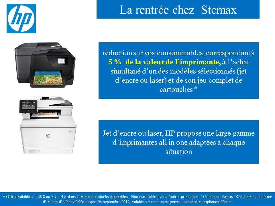 bts 2019 - les promos - imprimantes HP.p