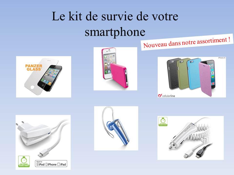 Le kit de survie de votre smartphone