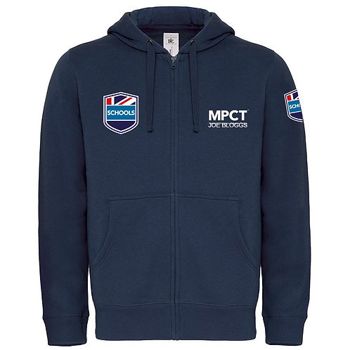 Personalised Staff Hooded Full Zip (MPS)