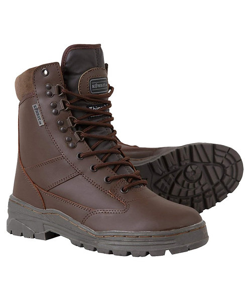 Patrol Boot - Brown